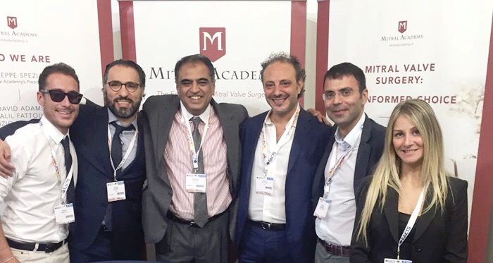Mitral Academy for the first at the EACTS