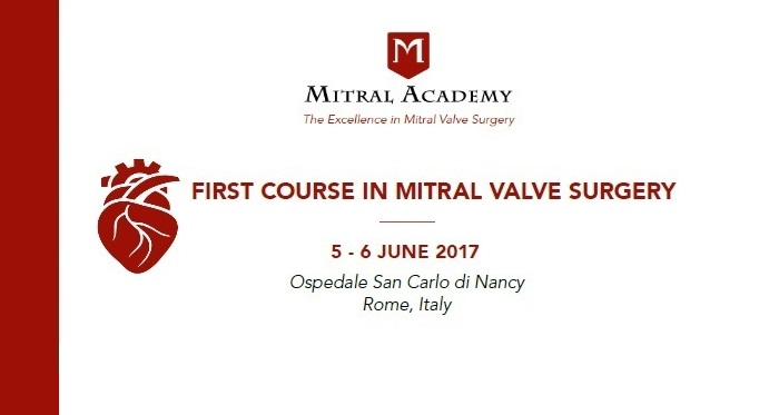 First course in mitral valve surgery
